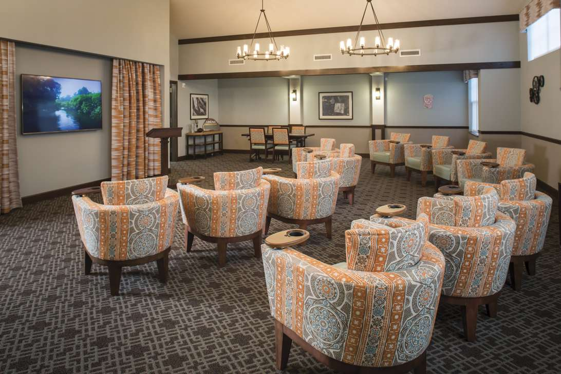 Featured Installation for Eagle Point Senior Living
