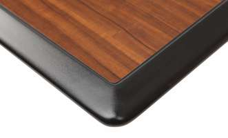Laminate Tabletop with Spill-Boundary Edge, Tier 1 Finishes