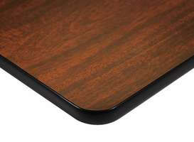 Quick-Ship Laminate Tabletop with T-Mold Edge