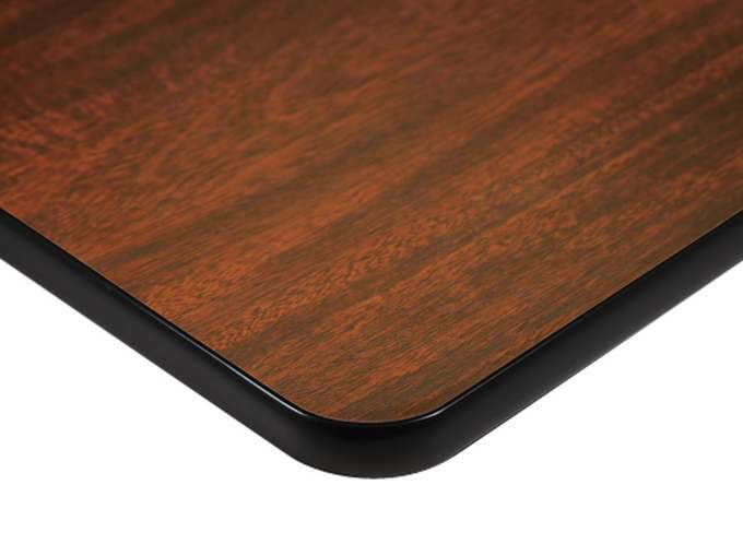 Laminate Tabletop With T Mold Vinyl Edge Tier 1 Finishes Maxwell Thomas