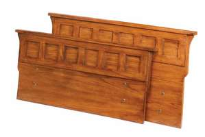 Oak Park Headboard & Footboard