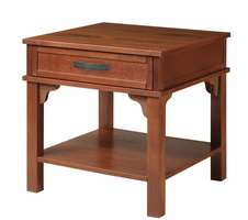 Oak Park Square End Table