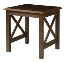 Saragosa Square End Table with Laminate Top
