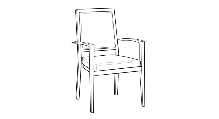 Line Drawing Chair : Chair line drawing i weup co