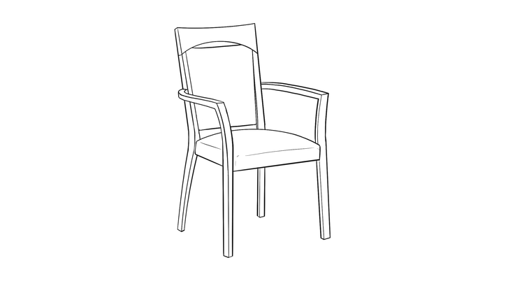 Montreal Dining Chair Maxwell Thomas